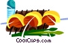 Picanha, Brazilian marinated steak Vector Clipart picture