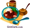 Feijoada, The Brazilian national dish Vector Clipart picture