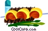 Picanha, Brazilian marinated steak Vector Clip Art picture