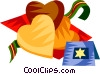 German Christmas cookies Vector Clipart image