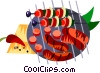 shish kebabs Vector Clipart picture