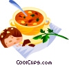 Hungary gulas soup Vector Clip Art picture