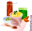 Vector Clip Art graphic  of a EU European cuisine Dijon