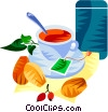 Vector Clipart picture  of a EU European cuisine