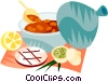 Vector Clipart illustration  of a EU European cuisine harira