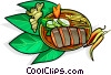 Vector Clip Art image  of a Thailand food