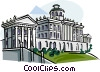 Vector Clip Art image  of a The Pashkov House Moscow