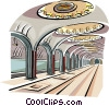Moscow Subway - Mayakovskaya station Vector Clip Art picture