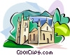 Vector Clip Art image  of a Port Arthur Tasmania