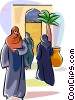 Arabic people Vector Clip Art image