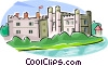Vector Clip Art picture  of a United Kingdom Leeds Castle