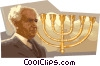 Vector Clipart graphic  of a Ben Gurion