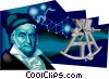 Carl Friedrich Gauss German Mathematician Vector Clip Art picture