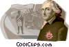 Friedrich II, The Prussia King Vector Clip Art picture
