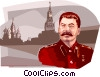 Vector Clipart illustration  of a Joseph Stalin