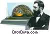 Theodor Herzl Vector Clip Art picture