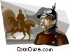 Otto von Bismarck Vector Clip Art graphic