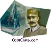 General Rudolph Majster Vector Clipart illustration