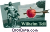 William Tell Vector Clip Art picture