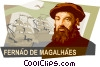 Vector Clipart graphic  of a Ferdinand Magellan