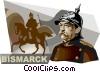 Vector Clip Art image  of a Otto von Bismarck