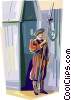 Papal Swiss Guard Vector Clipart picture