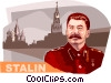 Vector Clipart graphic  of a Joseph Stalin