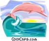 Fable Characters Boto cor-de-rosa Brazil Vector Clip Art image