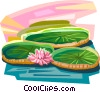 Vector Clipart picture  of a Vit�ria R�gia Brazil