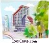 Tel-Aviv Israel Vector Clip Art picture
