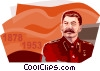 Joseph Stalin Vector Clipart illustration