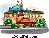 Russian Buildings Vector Clipart picture