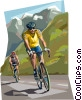 Cycling Tour de France Vector Clip Art image