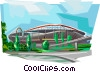 Portugal Stadium of Light Lisbon Vector Clip Art picture