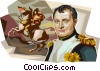 Vector Clipart image  of a France Napol�on Bonaparte