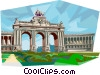 Vector Clipart graphic  of a Brussels Belgium
