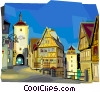 Vector Clip Art graphic  of a Germany Bavaria