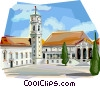 Vector Clipart illustration  of a Portugal Coimbra University