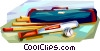 Rounders equipment Vector Clipart illustration