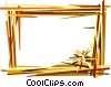 Decorative frame Vector Clipart illustration