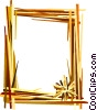 Vector Clip Art image  of a Decorative frame
