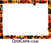 Halloween Frame Vector Clipart picture