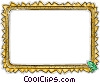 Decorative frame Vector Clipart picture