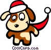 Santa's helper Vector Clipart illustration