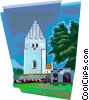Vector Clip Art graphic  of a Elmelunde