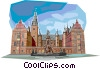 Vector Clip Art image  of a Lectures University