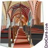 Lennard Nielsen Church, Denmark Vector Clipart graphic