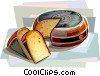 Dutch cheese Vector Clipart picture
