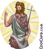 Saint John the Baptist Vector Clipart illustration