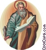 Saint Matthew Vector Clip Art picture